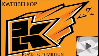 Kwebbelkop Road to 10 Million Subscribers LiveSubCount Only Less Than 3000 Subscribers To Go
