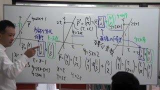 FCS数学教室/ベクトル方程式入門【上】