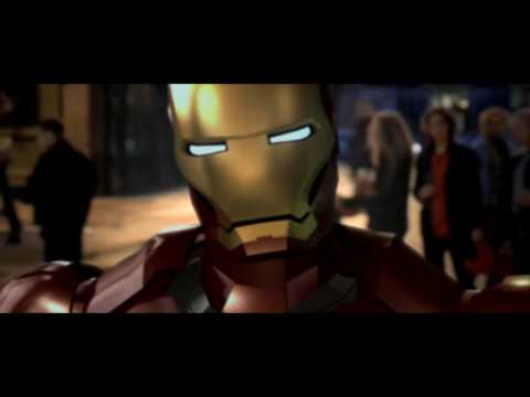 Iron Man Punches Hugh Grant (Iron Man & ACDC vs Bridget Jones)