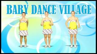 BABY DANCE VILLAGE -  ENGLISH VERSION (Dance Tutorial) - Kids Dance