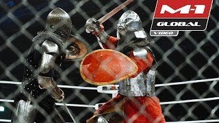Knight fighting, M-1 Medieval on M-1 Challenge 56 | Highlights