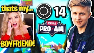 BROOKE *ADMITS* SYMFUHNY *OFFICIALLY DATING* AFTER HE *POPS OFF* in FORTNITE PRO AM!