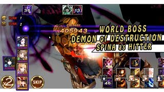 Seven Knights - World Bos Demon Of Destruction (SPINA MODE)