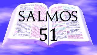 BÍBLIA - LIVRO DOS SALMOS, CAPÍTULO 51