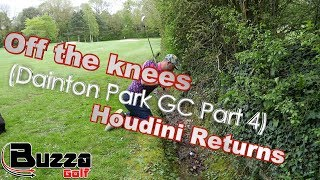 Off the knees Golf Shot!!! (Dainton Park GC Part 4)