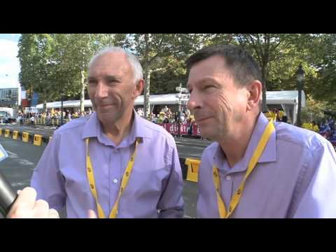 Phil Liggett and Paul Sherwen - 2011 Tour de France Wrap
