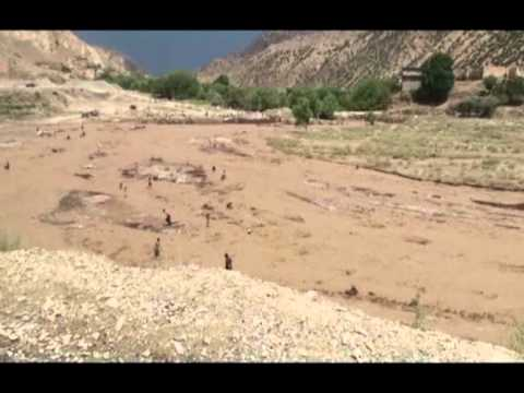 flood in chamkany paktia afghanistan