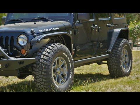 Jeep Wrangler Rear Steel Fender UPGRADE! MetalCloak Armor and Overline Flare Do It Yourself!