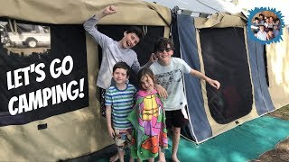 LET'S GO CAMPING!! Family Camping Trip (part 2)