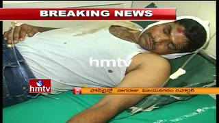 'Rice pulling' Gang Vehicle Scorpio Hits SI Rajesh In Parvatipuram   SI Several Injured