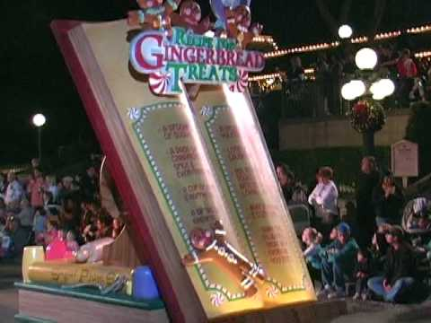 Disneyland's Christmas Parade 2009 - Part 1