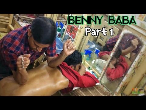 BENNY BABA'S WORLD'S BEST HEAD AND BACK MASSAGE | ASMR