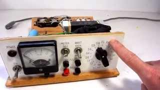 Homemade benchtop power supply