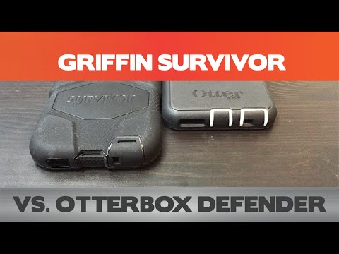Otterbox Defender vs Griffin Survivor - Which is the best iPhone 6 case?