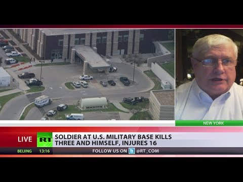 Fort Hood Shooting: 'A third of US troops on meds, facing stress & suicides'