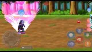 Hero Fighter X Stage 6 (Hero: Azrael) (Episode: Waken) (Code:10938)