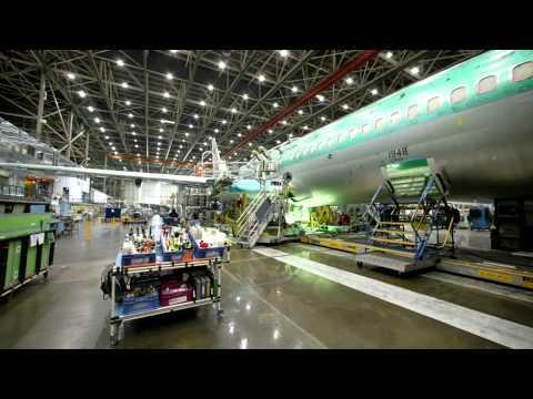 Как строили Боинг 737NG для S7 Airlines