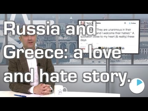 Russia and Greece: a love and hate story. The best of the european political week in 60 seconds.