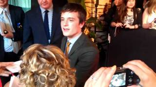 Josh Hutcherson @ Melbourne premiere of Journey 2