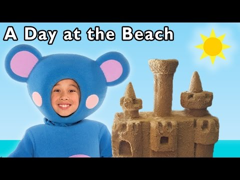 A Day at the Beach and More   Funny Beach Game   Baby Songs from Mother Goose Club!