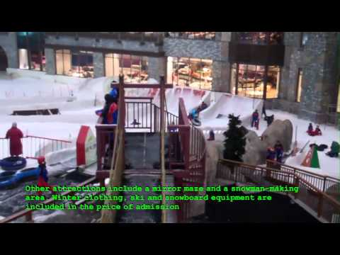 DUBAI TRAVEL GUIDE - MALL OF EMIRATES,SKI DUBAI (HD)