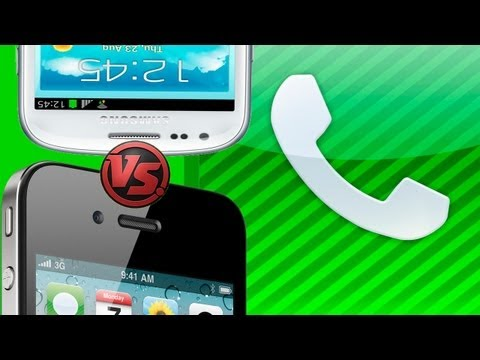 Samsung Galaxy S3 Mini VS iPhone 4S - Part 5/8 Call quality