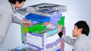 Fuji Xerox Realizes Efficient Workspace