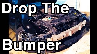 G35 Bumper Removal [Drop The Bumper]