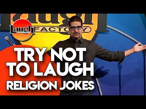 Try Not to Laugh  Religion Jokes  Laugh Factory Stand Up Comedy