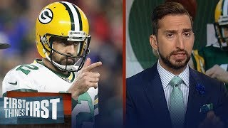 Aaron Rodgers and the Packers will win the NFC — Nick Wright predicts | NFL | FIRST THINGS FIRST
