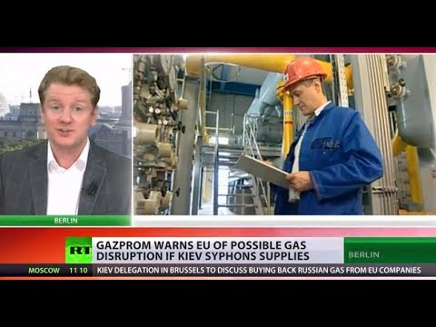 EU may face gas disruption if Ukraine siphons Russian supplies
