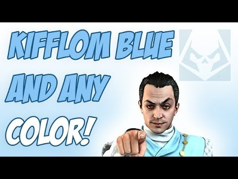 GTA 5 ONLINE - HOW TO GET VEHICLE CUSTOM COLOR (KIFFLOM BLUE)