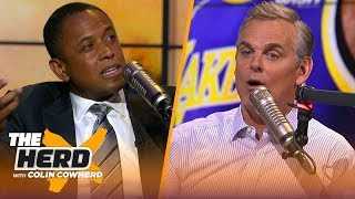 BJ Armstrong details playing & practicing with MJ, talks Steve Kerr & Lakers drama | NBA | THE HERD