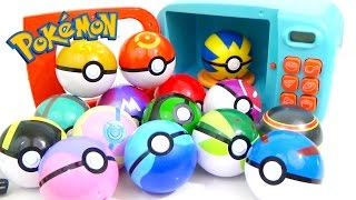 POKEMON Play-Doh and MAGIC MICROWAVE Surprise Cooking Playset | Compilation