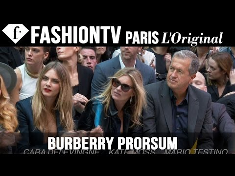 Burberry After the Show ft Cara Delevingne, Kate Moss | London Fashion Week Spring 2015 | FashionTV