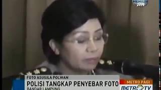 Polisi Tangkap Penyebaran Foto Bugil Mirip Polwan Sespri Kapolda Lampung