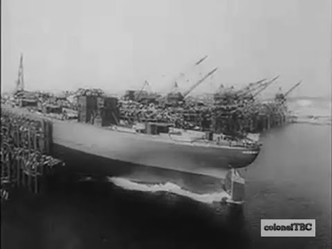 Shipbuilding program hits all time high - 1942