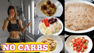 NO CARB DAY | What I eat in day with no carbs | Competition Prep Week 8
