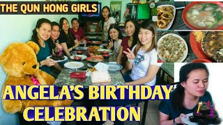 THE RAMPAN GIRLS IN QUN HONG COMPANY | REY'S FOOD RESTAURANT BIRTHDAY CELEBRATION | TAIWAN