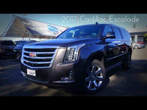 2017 Cadillac Escalade ESV Premium Luxury 6.2 L V8 Review
