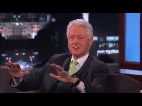 Bill Clinton Talks About The Coming FAKE Alien Invasion