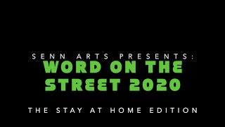 Word on the Street 2020: The Stay at Home Edition