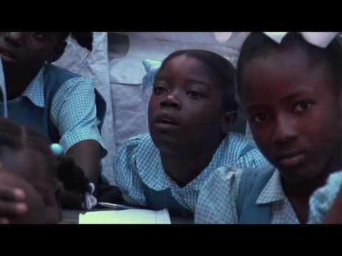 UNICEF and partners educate Haitian children on how to prevent cholera