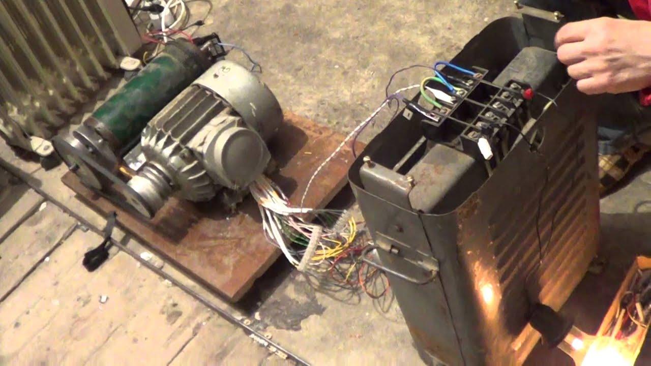 Как с асинхронного двигателя сделать электрогенератор