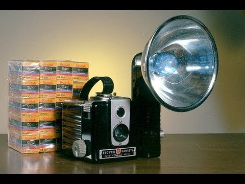 Kodak Brownie Hawkeye Flash! Classic Film Camera!