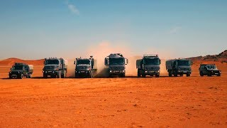 Mercedes trucks - masters of the desert