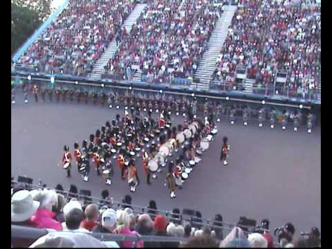 Edinburgh Military Tattoo 2009 - The Massed Pipes and Drums (Main performance) Music Videos