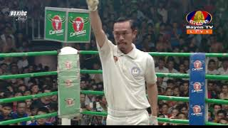 kun khmer ,  Phol Sophorn Vs Lao Chetra, kun khmer , Bayon tv kun khmer,  27 May 2018
