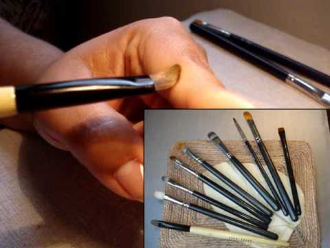 REVIEW. Mis brochas para sombras en crema / My cream eyeshadow brushes.