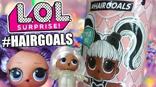 LOL Surprise #HAIRGOALS First Look | L.O.L. Series 5 or Wave 3 Eye Spy | Dolls w/Real Hair (No Wigs)